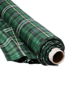 Irish County Tartan Cloth by Marton Mills - 12 Yards