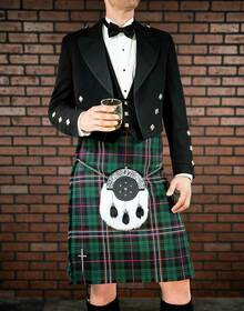 Prince Charlie 3 Button Vest Package (without kilt)