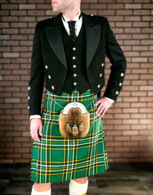 Prince Charlie 5 Button Vest Kilt Package