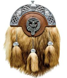 Clan Crest Formal Fox Sporran