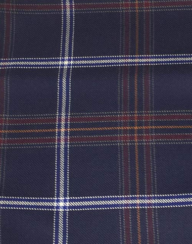 Here is the Jewish Tartan! It's been a long time coming. The first fully kosher tartan, official, in the books and ready to go! This kosher tartan was put on the books by Rabbi Mendel Jacobs recently!