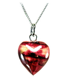 Heathergem Wee Heart Pendant red - SP10