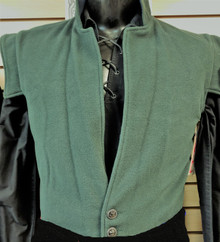 Swordsman Vest - Jacobite Peitean - Forest Green - Medium