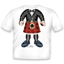 Red Prince Charlie Onesie/T-Shirt
