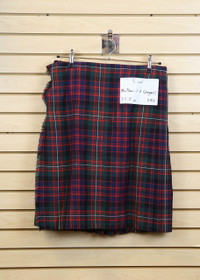 Used Kilt: MacDonnell of Glengarry 35-38W - 25L