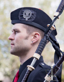 Claymore Black Glengarry Hat