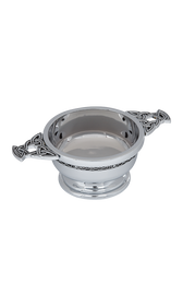 "Celtic Chrome Plated Quaich 2.5""  -  QA2SP"