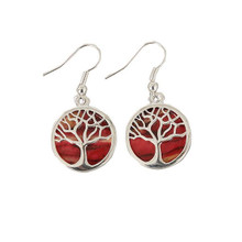 Heathergem Tree of Life Earrings - HE89