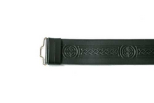 Kilt Belt - Celtic Embossed Velcro Adjustable