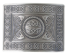 Highland Serpent Kilt Belt Buckle - Antique - GMB09AS