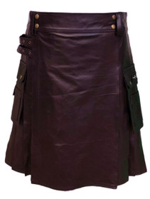 Claymore Leather Utility Kilt Image