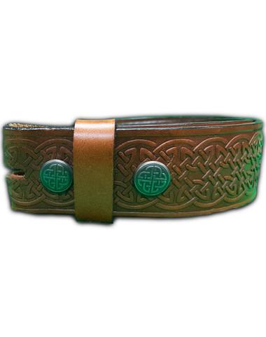 Celtic Leather Belt Image