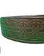 Celtic Leather Belt - Dark Brown Image 2