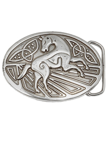 Celtic Horse Trouser Buckle - Lee River