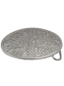Celtic Bird Trouser Buckle Lee River image