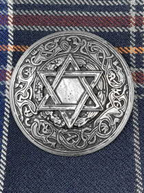 Norse Star with Oak Leaves Brooch image