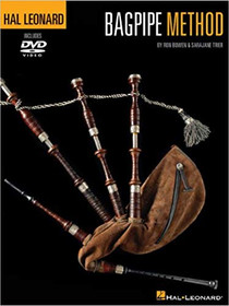 Hal Leonard Bagpipe Method with DVD by Ron Bowen and Sara Jane Trier