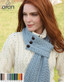 Buttoned Loop Scarf A196 image