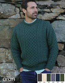 Irish Crew Neck Sweater A823 image