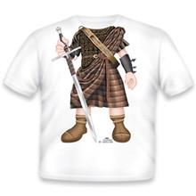 Scottish Warrior Onesie/T-Shirt