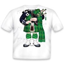 Green Bagpiper Onesie/T-Shirt