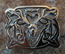 Celtic Stag Buckle