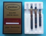 Ezeedrone Reed Set for McCallum Folk Pipes, Key of A or D
