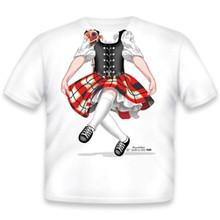 Highland Dancer Red Onesie/T-Shirt
