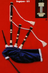 Shepherd Model S/3 Bagpipes