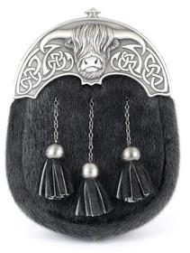 GMDR26M - Short Black Bovine - Matte