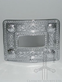 GMB87CP Celtic Knot Buckle Chrome