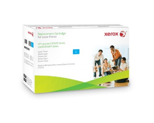 XEROX 106R1584 COMPATIBLE HP CE251A 504A CYAN REPLACEMENT TONER CARTRIDGE BY XEROX NEW