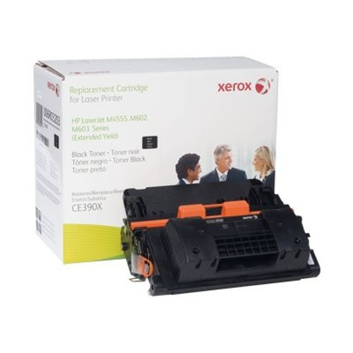 2PK Compatible Toner Cartridge for HP 90X HY Black CE390X for HP M603n M603dn