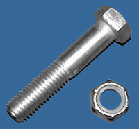"Bolt- 5/8"" Conn w/Nut"
