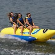 RAVE Waterboggan 3 Person Towable Tube