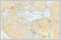 Chart - Winnipesaukee Folded Waterproof