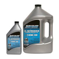 Oil-4 Strk Quicksil Prem 10W30 Qt