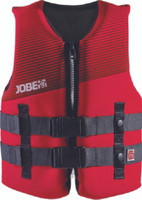 Jobe Neoprene Life Jacket Youth 50-90 lbs Red