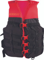 Jobe Dual Vest Unisex L/XL, Red/Black