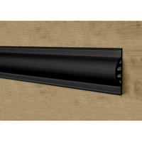 Bumper - Flat 4 Chamber 10 ft Black