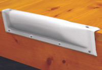 "Bumper - Taylor Made -18"" Edge Straight White"