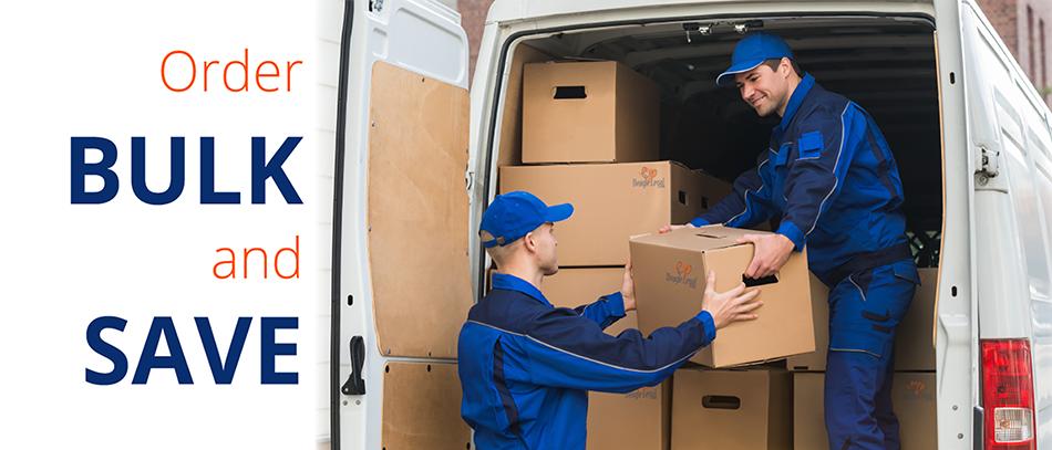 Shipping supplies in bulk