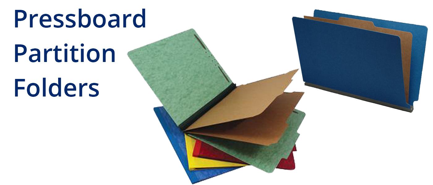Pressboard Partition Folders
