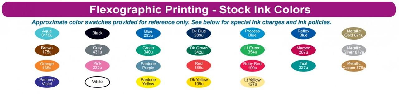 Flexo Ink Colors
