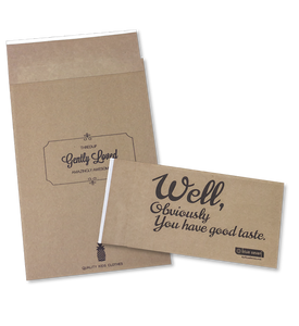 Printed Eco-Natural Mailers - 1 or 2 colors