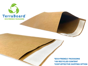 Plain TerraBoard Envelopes - New