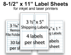 Blank Stock Labels