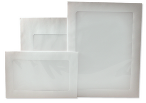 Kraft Full View Window Envelopes