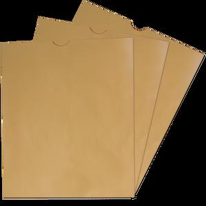 Kraft X-Ray Negative Flat Envelopes