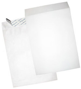 "Tyvek Open End Envelopes - 9"" x 12"", Plain, Sub 18"